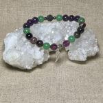 Archangel Zadkiel Natural Gemstone Feminine Energy Aromatherapy Bracelet