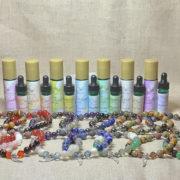 Archangel Crystal & Gemstone Aromatherapy Bracelets