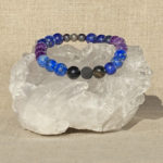 Third Eye Chakra Aromatherapy Crystal Bracelet