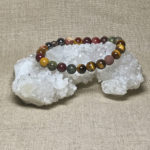 Archangel Chamuel Gemstone Crystal Masculine Energy Aromatherapy Bracelet