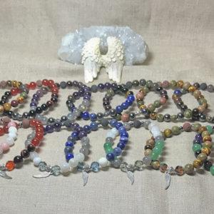 Natural Gemstone Crystal Jewelry