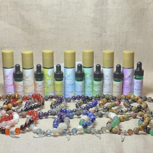 Archangel Aromatherapy Crystal Bracelets and Essential Oils