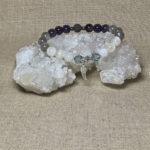 Archangel Jophiel Gemstone Crystal Feminine Energy Aromatherapy Bracelet