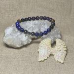 Archangel Michael Gemstone Crystal Masculine Energy Aromatherapy Bracelet