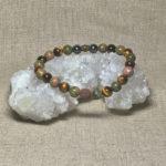 Archangel Uriel Gemstone Crystal Masculine Energy Aromatherapy Bracelet