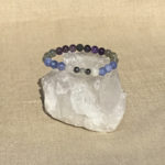 Crown Chakra Aromatherapy Crystal Bracelet