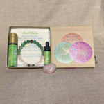 Heart Chakra Aromatherapy Crystal Bracelet and Essential Oil Gift Set