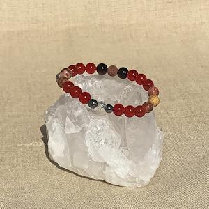 Sacral Chakra Aromatherapy Crystal Bracelet